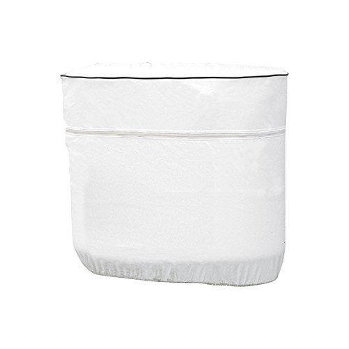 Classic Accessories 79730 RV Propane Tank Cover, White, Fits Dual 30 - 7.5 Gallon Tanks