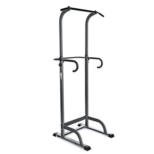 Fitness Cyber Monday PROMO! Pull Up Station Adjustable Power Tower Multi Fitness Workout for Home Gym Indoor Outdoor