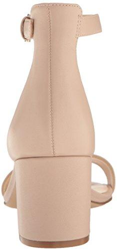 Sandalo In Pelle Con Nove Giacche Da Donna, Naturale