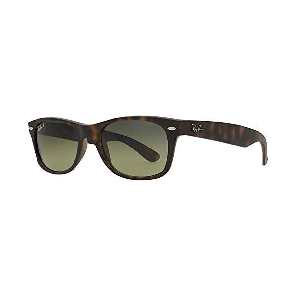 Ray-Ban-New-Wayfarer-Sunglasses-RB2132-Frame-RedLens-Purp-Polarized-55mm