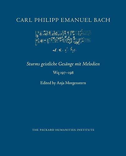 Sturms geistliche Gesänge mit Melodien, Wq 197–198 (CPEB:CW Offprints)