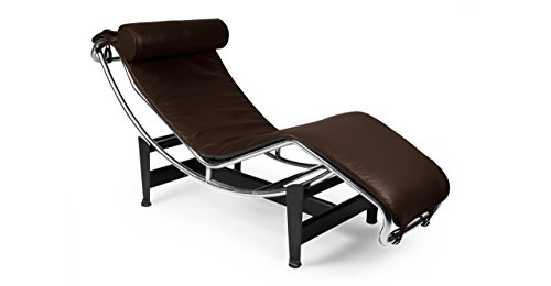 Kardiel LC4-CHOCOBROWN-ANI Gravity Chaise Lounge, Choco Brown Aniline Leather ()