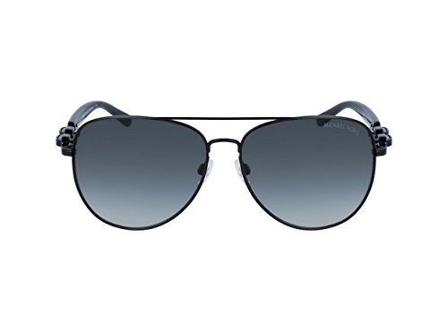 Michael Kors Women's Pandora Matte Black/Grey Gradient - Aviators Black Michael Kors