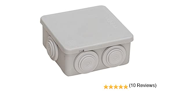 Famatel M111751 - Caja estanca ip55 80 x 80 x 36: Amazon.es: Bricolaje y herramientas