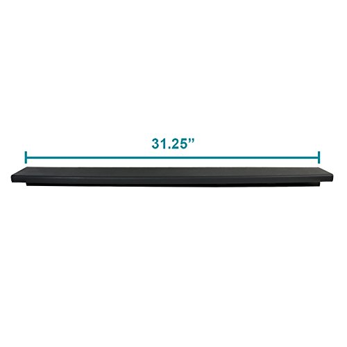 Spec-D Tuning TGP-F25011-BK-FS Tailgate Molding