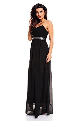 Kleid schwarz abiball