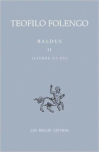 Amazon Com Baldus T Ii Livres Vi Xv Bibliotheque