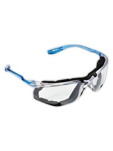Foam Gaskets (3M 10078371118720 Virtua CSS Protective Eyewear with Foam Gasket, Clear/Blue)