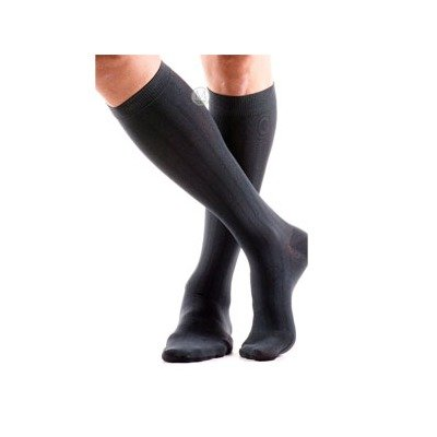 BI110532 - Bsn Jobst ActiveWear Knee-High, 15-20 mmHg, X-Large, Full Calf, Closed, Cool Black