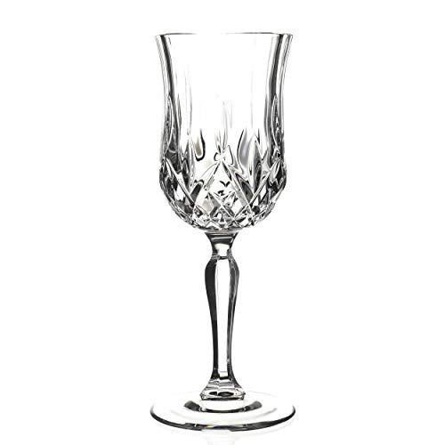 Lorren Home Trends Opera Red Wine Glass, Set of 6