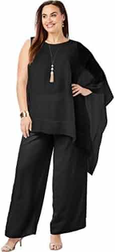 92c60ce71b022 Jessica London Women s Plus Size 2-Piece Pant Set