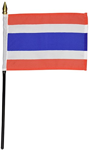 US Flag Store Thailand Flag 4 by 6-Inch