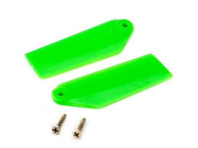 Blade Tail Rotor Blade Set, Green: 130 X BLH3733GR