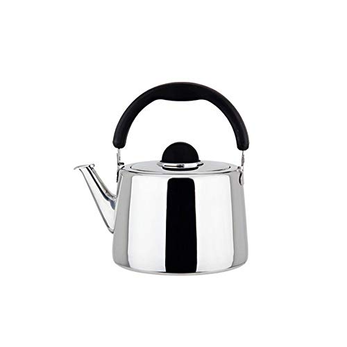 Classic Kettle,Upgraded version Stainless Steel Tea Coffee Kettle/Tea Kettle, Hot Water Kettle, Anti-Hot Handle,Dishwasher Safe , Suitable for All Heat Sources ,|Perfect gift| (2.5,3,4,5,6,8 Quart) +s