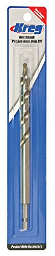 Kreg Hex Shank Pocket (Kreg Hex Shank Pocket-Hole Drill Bit)
