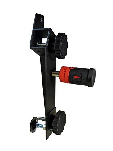(BOLT 7028648 Hi-Lift Jack Mount for Jeep Wrangler (Black Mount for Driver Side, J-Mount))