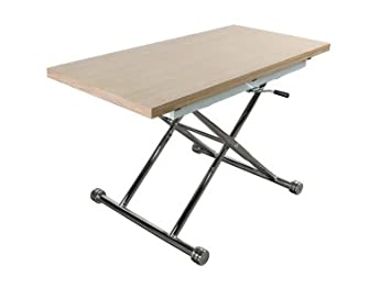 Table Upamp; ChêneCuisine Lilian Maison Extensible Down v0O8nmwN
