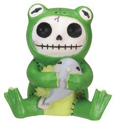Lion Mountain Gorgeous Gifts (Froggie Frog Furry Bones Figurine Display)