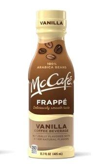 McCafe Frappe, Vanilla, 13.7fl.oz.(Pack of 12) by McCafe