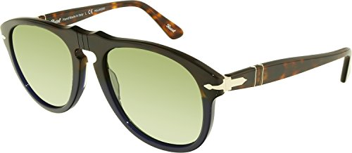 Persol Mens Sunglasses (PO0649 54) Blue/Grey Acetate - Polarized - - Japan Sunglass Hut