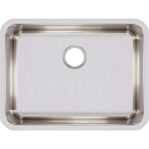 Elkay ELUH2317 Lustertone Classic Single Bowl Undermount Stainless Steel Sink ()
