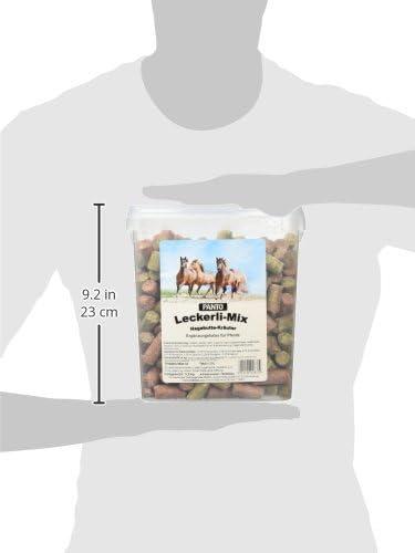 1er Pack 1 x 3.2 kg Panto Leckerlimix Kr/äuter und Hagebutter pelletiert