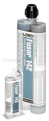 Lord Fusor Plastic Repair Adhesive, Fast, 10.1 Oz. Part #:Fus-142