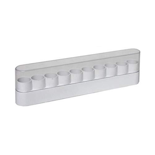 Plastic Glitter Holder - 10 Slot -