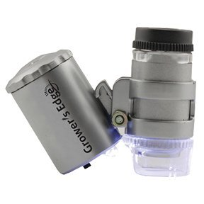 Grower's Edge Illuminated Microscope 60x - http://coolthings.us