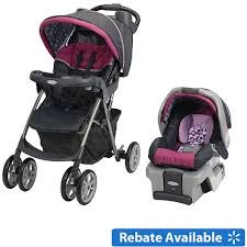 Graco Spree Classic Connect Travel System With Snug Ride Car Seat And Base Pammie
