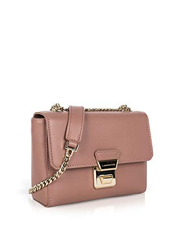 Leather Shoulder Bag Paris Lancaster Women's Pink 57122ROSE Hxw6H4Pq