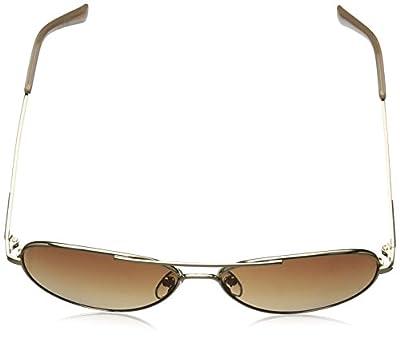 Calvin Klein Unisex-Adult R169s R169S-001 Aviator Sunglasses