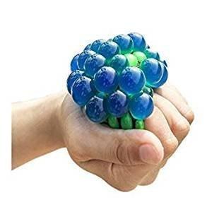 1 PCS Topseller Mesh Ball, Grape Stress Relief Squeezing