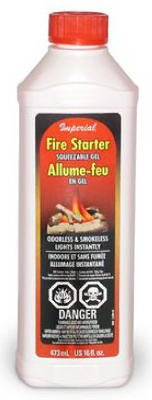 Imperial Mfg Group 16Oz Gel Firestarter Kk0082-A Soot Removers by Imperial