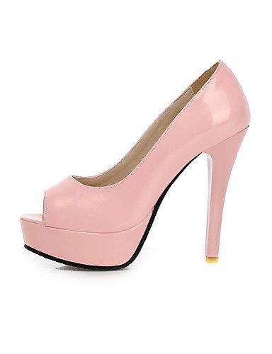 Fiesta Vestido Semicuero 5 pink Tacones GGX 5 Mujer eu42 y eu42 cn4 Rosa Noche Tacón Plataforma 5 uk8 us10 us10 cn43 uk8 green pink 5 cn35 Punta 5 Abierta eu36 uk3 5 Negro Almendra Stiletto Tacones us5 0za8170q
