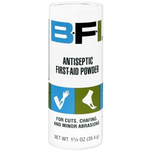 BFI Antiseptic First-aid Powder - 1.25 Oz, 3 Pack by Numark Laboratories Inc