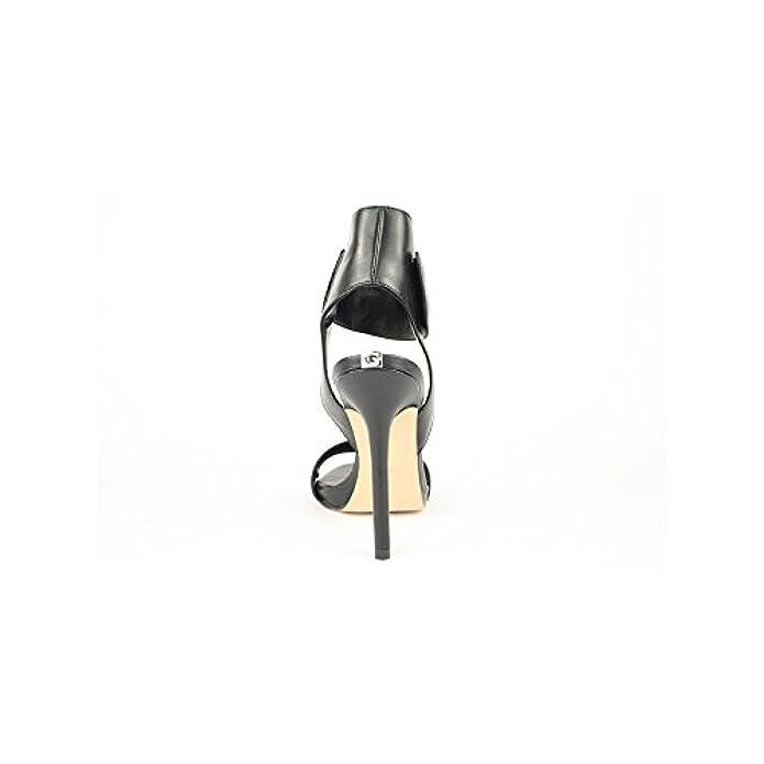 Scarpe Sandali Donna Guess Mod Lali Sandal Fl2lailea03 Col Nero In Pelle