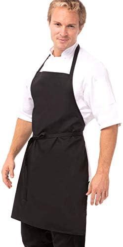 Chef Works CSAA Pin Striped Bib Apron
