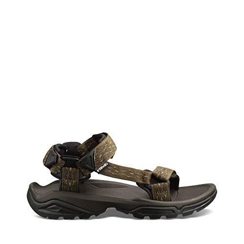 Teva Men's Terra FI 4 Sandal, Madang Olive Webbing, 9 M US