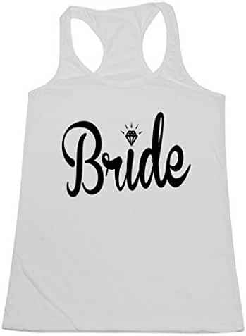P&B Women's Wedding Bride Tank Top