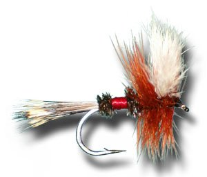 Royal Wulff Fly Fishing Fly – Size 12, Outdoor Stuffs