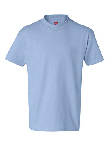 Hanes boys Cotton T-Shirt(5450)-Light ()