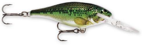 Rapala SR05BB Shad Rap 05 Fishing Lure 2 Baby Bass
