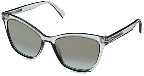 Marc Jacobs Women's Cat Eye Sunglasses, Crystal Black/Grey, One - Marc Sunglasses Jacobs