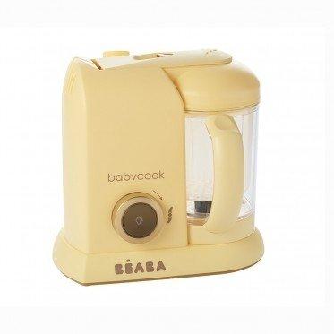Beaba –  Batidora de la colecció n Babycook Macaron, crema de vainilla Cleverclogs 912605