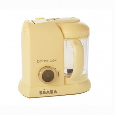 Beaba Blender Babycook Macaron Collection, Vanilla Cream Cleverclogs 912605