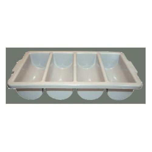 Winco PL-4B 4-Compartment Cutlery Bin (Winco Decanter)