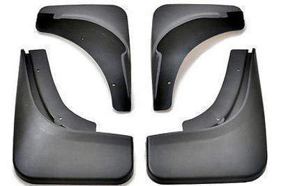 FidgetFidget New Set Splash Guards Mud Guards Mud Flaps for VW 05-2010 Jetta MK5 A5 TDI Sedan