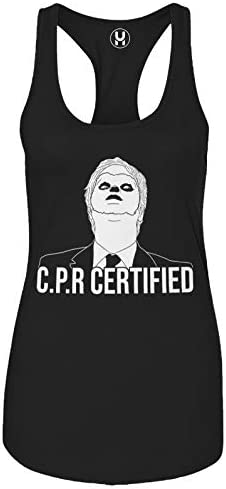 Haase Unlimited CPR Certified Dwight Dummy Face Mens Tank Top