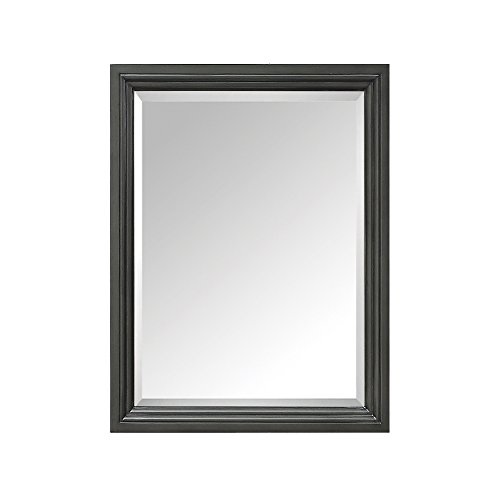 Avanity Thompson 24 in. Mirror in Charcoal Glaze finish